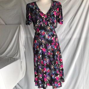Marks &Spencer floral dress Sz Uk 12 US8